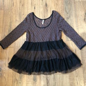 Free People Size S Lace Top